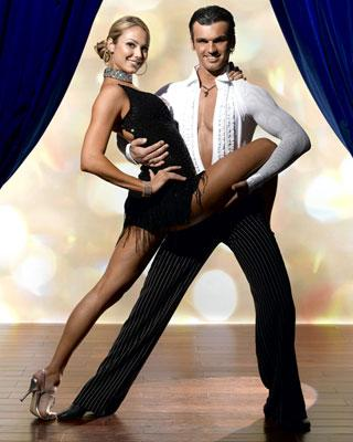 Stacy Keibler teams up with professional dancer Tony Dovolani for Season 2 of Dancing with the Stars