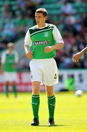 Paul Hanlon was on target in Hibernian's victory over St Johnstone