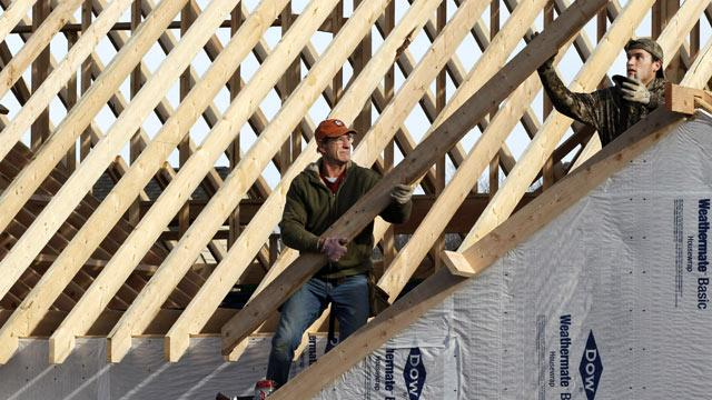 Home Construction at Fastest Pace Since 2008