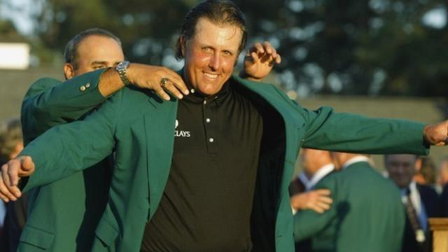 Golf - Do left-handers have an edge at the Masters?