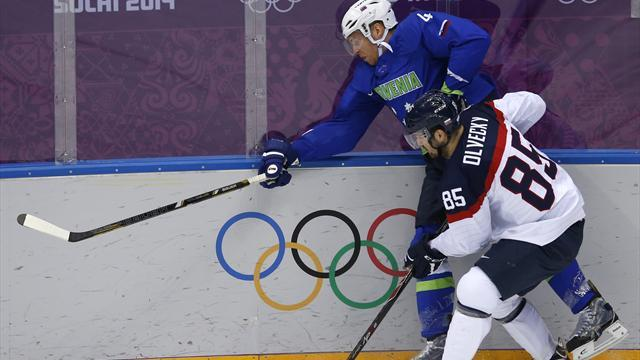 Ice Hockey - Slovenia's Kovacevic banned one game for hit