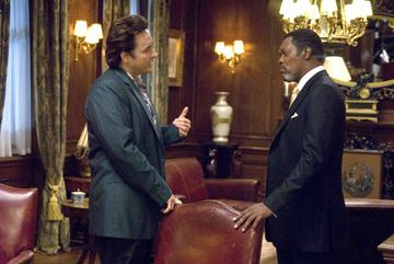John Cusack and Samuel L. Jackson in Dimension Films' 1408