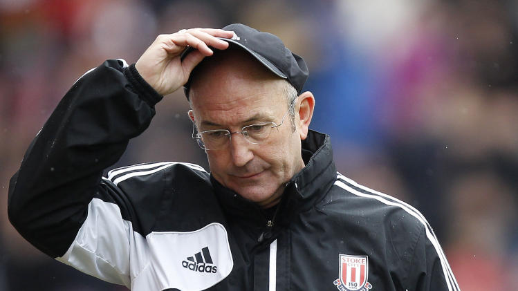 Soccer - Tony Pulis File Photo