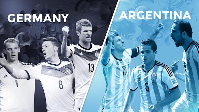 World Cup - Germany v Argentina: The final LIVE