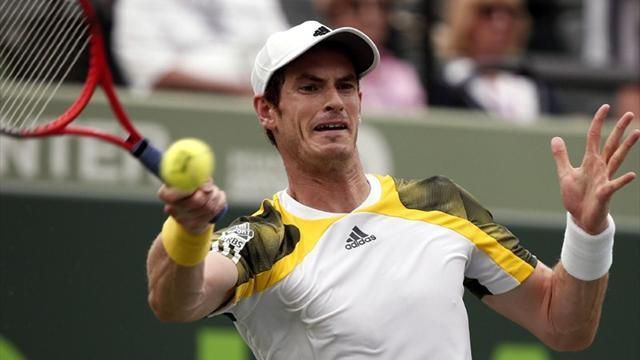 Tennis - Murray survives Dimitrov test in Miami