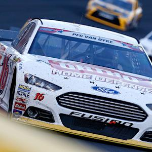 Biffle: 'Two to go, I started running out'