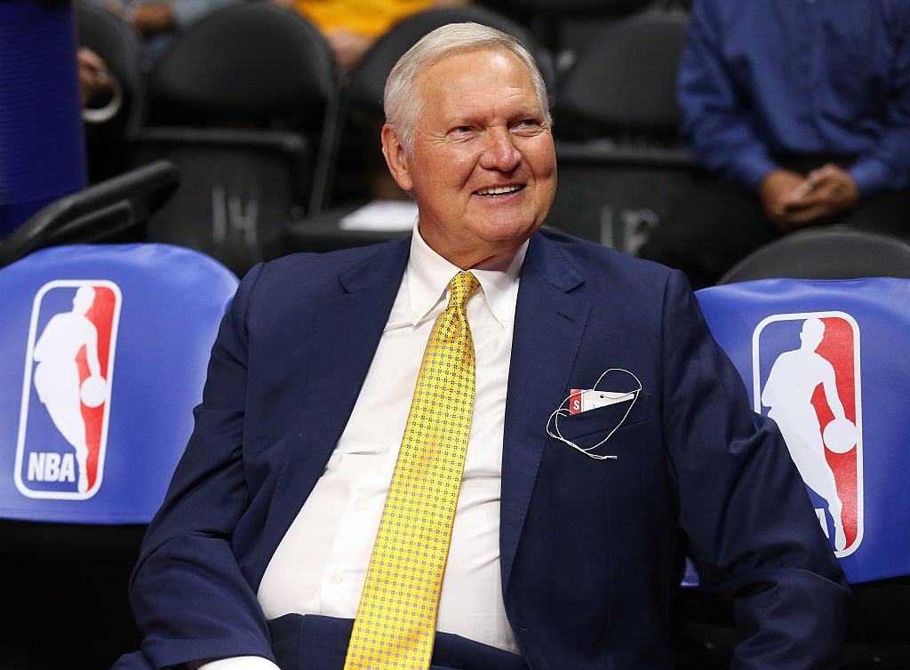 Jerry West has served as an executive board member for the Warriors since 2011. (Getty Images)