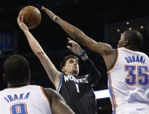 Thunder snap 3-game skid, beat Minnesota 127-111