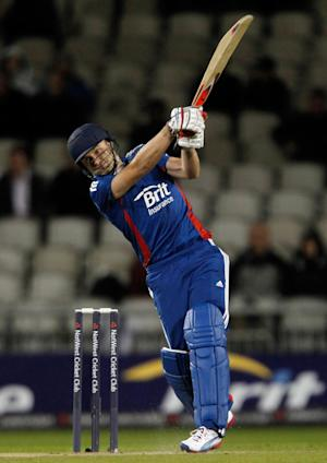 England's Luke Wright hit 99no in the victory against Afghanistan