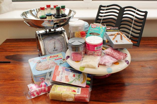 Baking can quickly become expensive - Felicity's ingredient collection