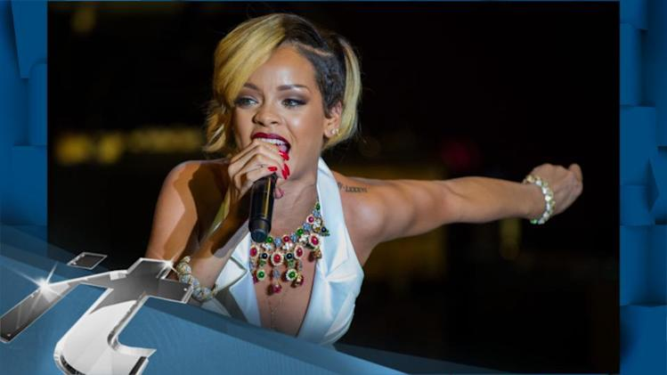 Rihanna News Pop: Rihanna's Heart Is Racing For Nascar Hottie Lewis Hamilton?