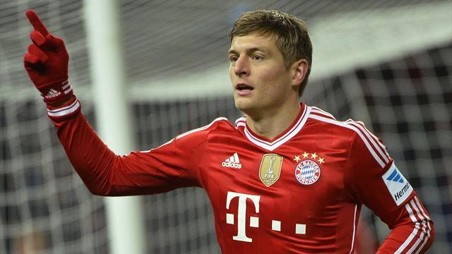 Bundesliga - Bayern's Kroos keeps quiet about future at club