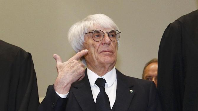 Formula 1 - Ecclestone dismisses F1 TV decline