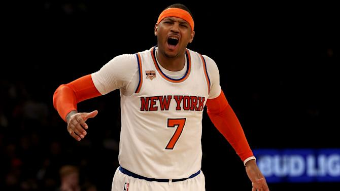 NBA trade rumors: Carmelo Anthony says he won't leave Knicks 'without having a plan'