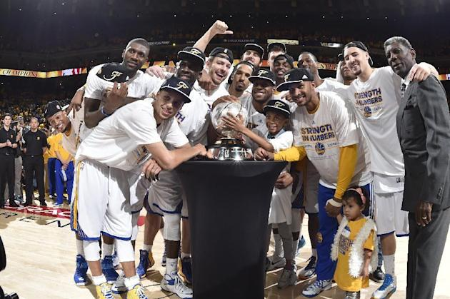 Warriors eliminate Rockets, end 40-year NBA Finals drought