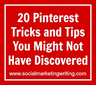 20 Pinterest Tricks And Tips You Might Not Have Discovered image 20 Pinterest Tricks and Tips You Might Not Have Discovered
