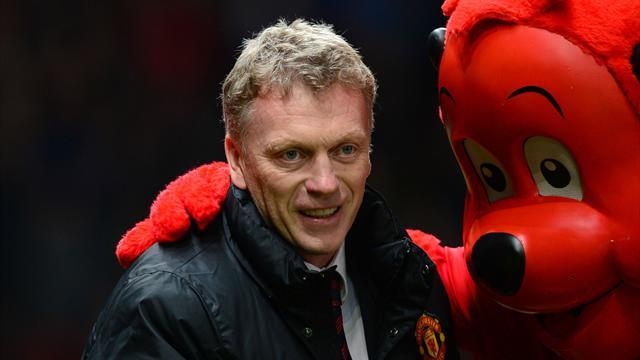 Premier League - Managers: Moyes relieved that 'luck' goes United's way at last