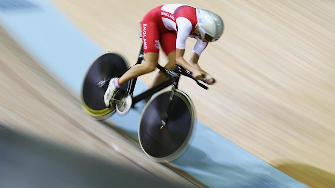 Cycling - Rowsell is golden girl but Kenny settles for silver again