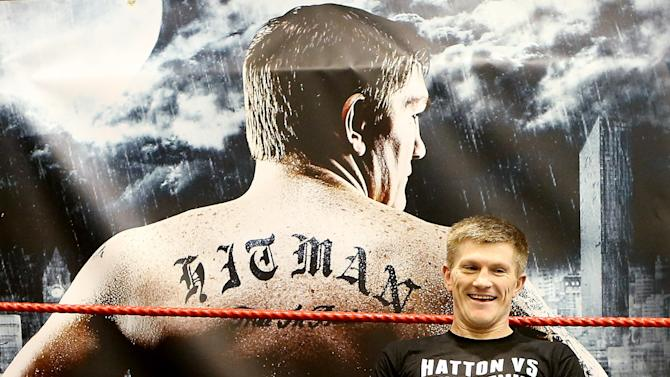 Ricky Hatton & Vyacheslav Senchenko Media Workout