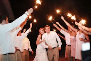 wedding sparklers
