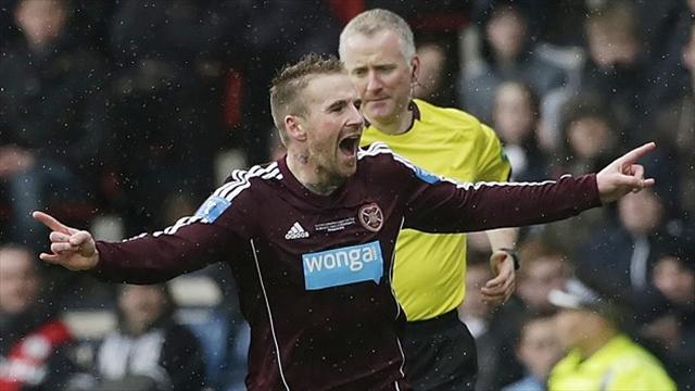 Scottish Premier League - Hearts duo agree wage cuts