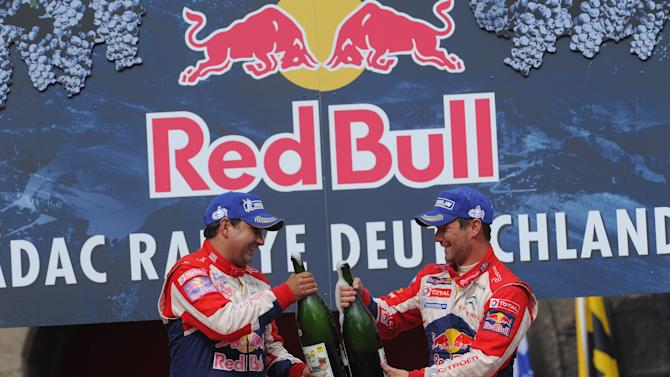 FIA World Rally Championship Germany - Day3