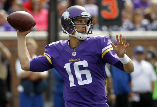 Vikings agree to trade Cassel to Bills for draft pick
