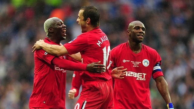 FA Cup - Latics beat Lions to reach FA Cup final