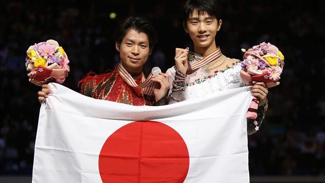 Figure Skating - Hanyu seals famous Olympic-World double