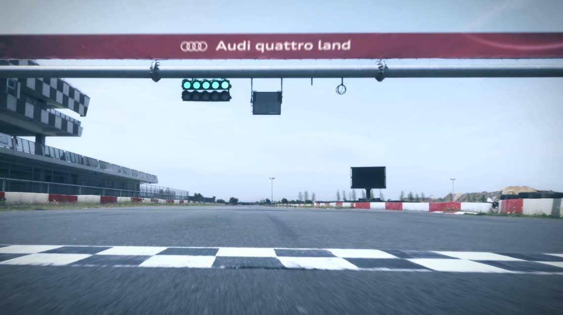 Audi 車主體驗樂園熱血開跑