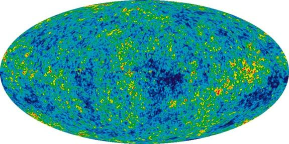 The detailed, all-sky picture of the infant universe created from nine years of WMAP data.