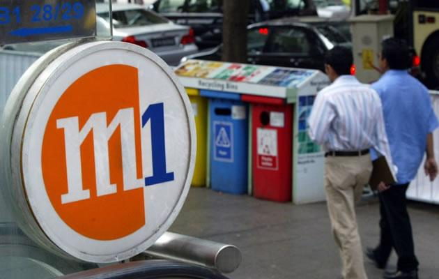 M1 will launch its 4G network, the first in Southeast Asia, by 15 September. (AFP file photo)