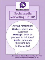 M is for Marketing   What to say on Social Media image Pinterest Social Media Tips 101 225x3003