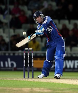 England's Jos Buttler blasted 32 off just 10 balls at Edgbaston