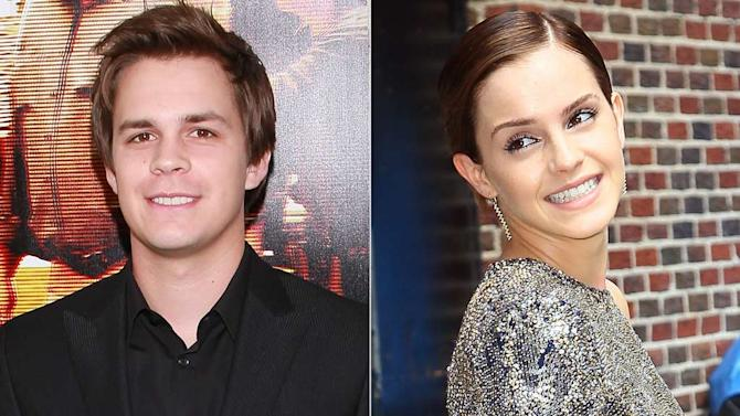 Johnny Simmons Emma Watson split