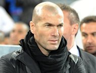 Former France international Zinedine Zidane pictured at the French L1 match betwen Montpellier and Evian in Montpellier, southern France, on May 1. French football legend Zidane said on Thursday there was nothing wrong with the tactics deployed by Spanish coach Vicente del Bosque at Euro 2012 despite growing criticism back in Spain