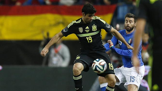 World Cup - Scolari: I'd have picked Costa for Brazil