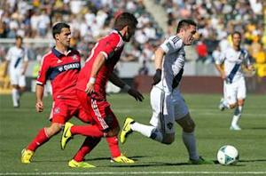 LA Galaxy 4-0 Chicago Fire: Magee hat trick paces reigning champs to opening win