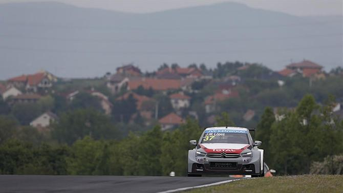 WTCC - Valente and Bennani on Lopez's heels