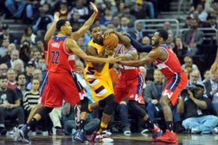 NBA: Washington Wizards at Cleveland Cavaliers
