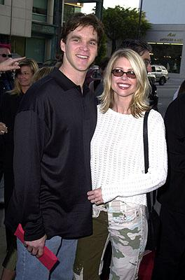 Luc Robitaille and wife at the Beverly Hills premiere of 20th Century Fox's Moulin Rouge