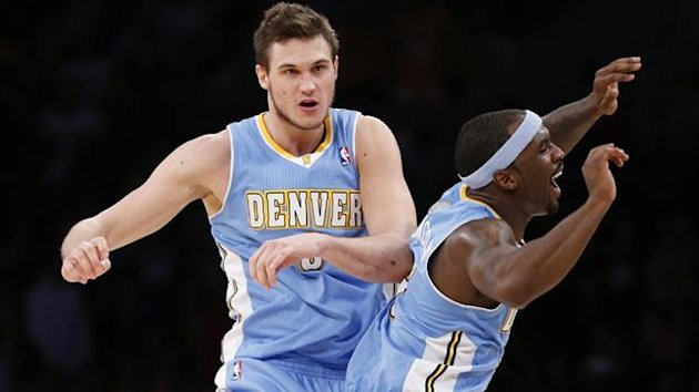 Danilo Gallinari of the Denver Nuggets (Reuters)