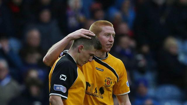 Scottish Football - Rangers suffer shock home defeat to Annan