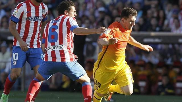 Liga - Messi could be sidelined again after injury relapse