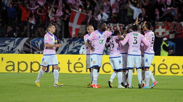 Ligue 1 - Brest relegated after Evian victory over Nice