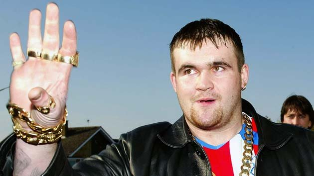 Known as the 'Lotto Lout' Michael Carroll became infamous after he spent his £9.7million winnings on drugs and prostitutes.