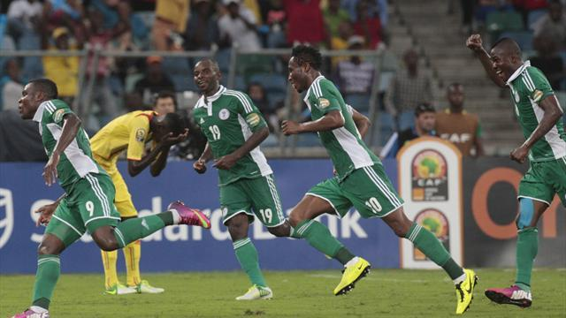 African Cup of Nations - Nigeria hammer Mali to match into final