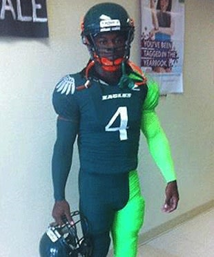 The Atlantic High uniforms, put Futuristic Woo on the map — Twitter