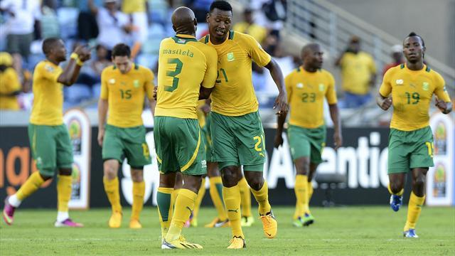 African Cup of Nations - Hosts South Africa see off Angola