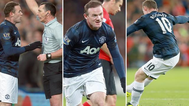 Premier League - Rooney hero and villain as United denied by Cardiff